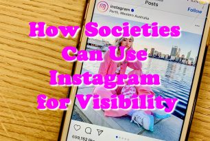 How Societies Can Use Instagram for Visibility