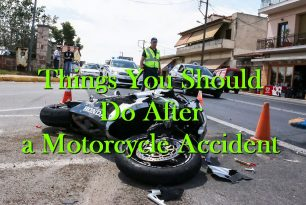 Things You Should Do After a Motorcycle Accident