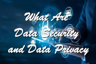 What Are Data Security and Data Privacy